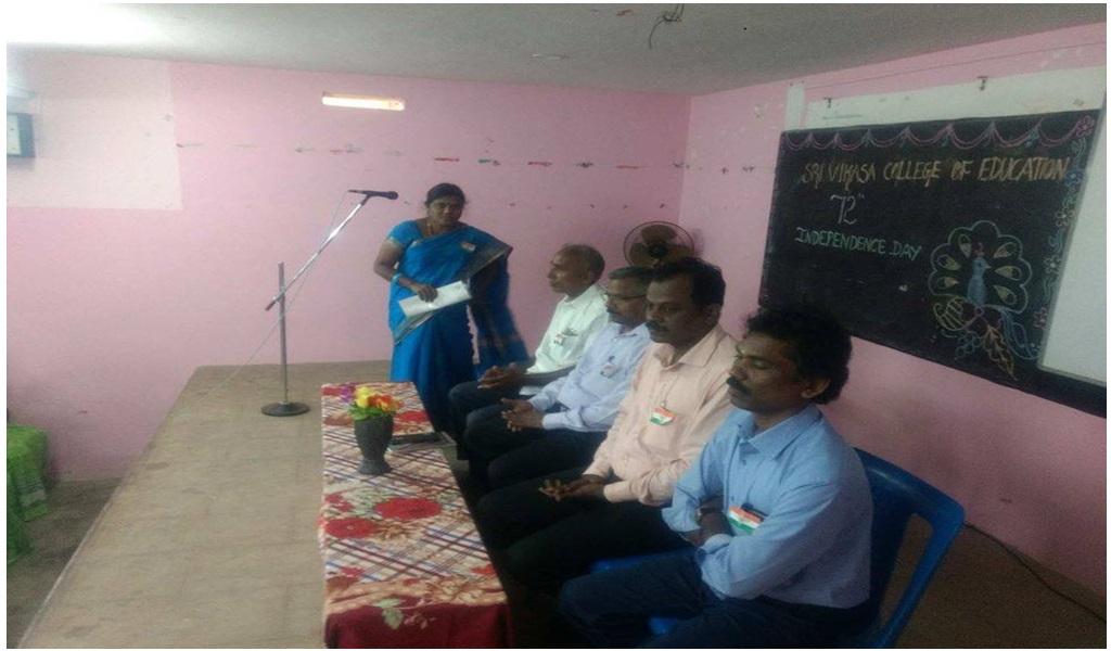 உத்தமபாளையம், விகாசா கல்வியியல் கல்லூரியில் விடுதலை நாள் விழா - படம் - 4