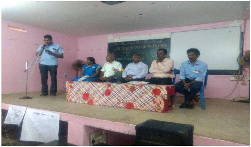 உத்தமபாளையம், விகாசா கல்வியியல் கல்லூரியில் விடுதலை நாள் விழா - படம் - 5