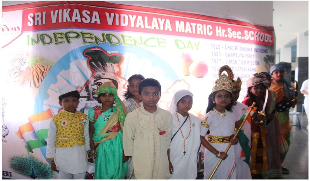 உத்தமபாளையம், விகாசா பள்ளியில் விடுதலை நாள் விழா - படம் - 4