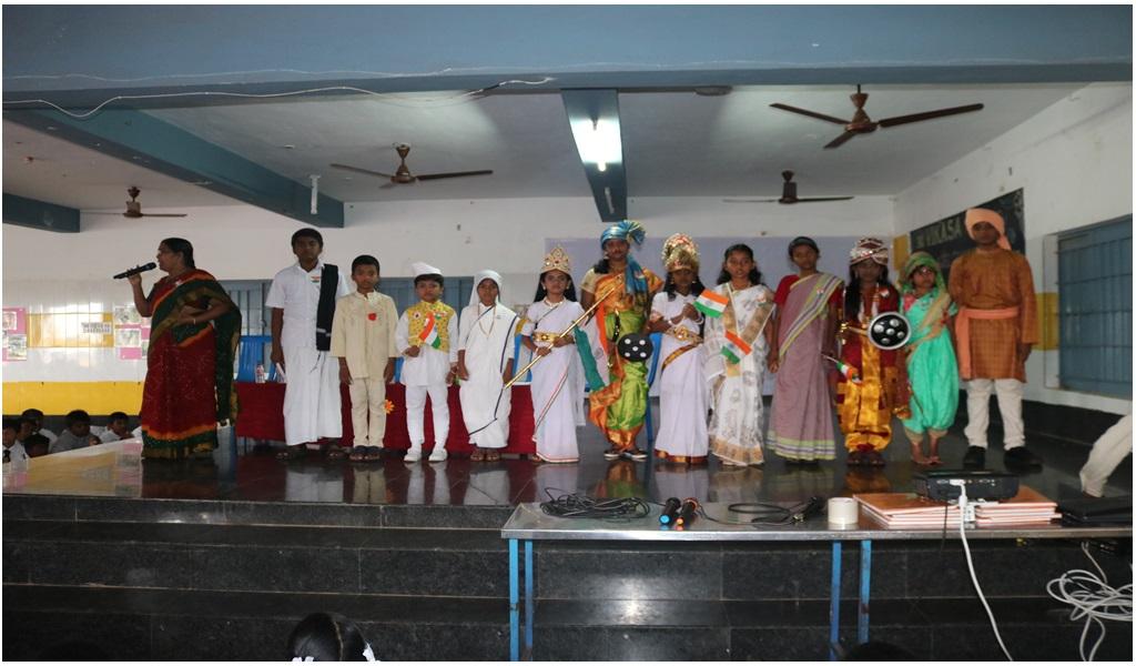 உத்தமபாளையம், விகாசா பள்ளியில் விடுதலை நாள் விழா - படம் - 5